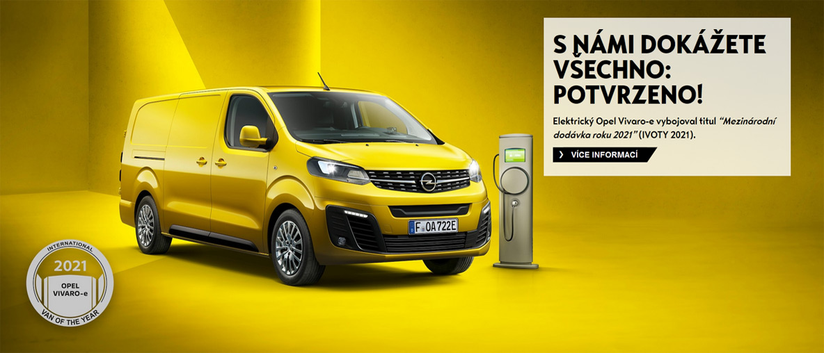 Opel Vivaro-e: International VAN of the year 2021.